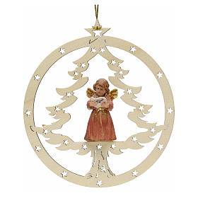 Christmas decor angel with music score s1