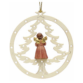 Christmas decor angel with music score s2