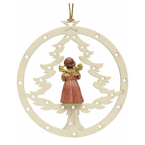 Christmas decor angel with music score 2