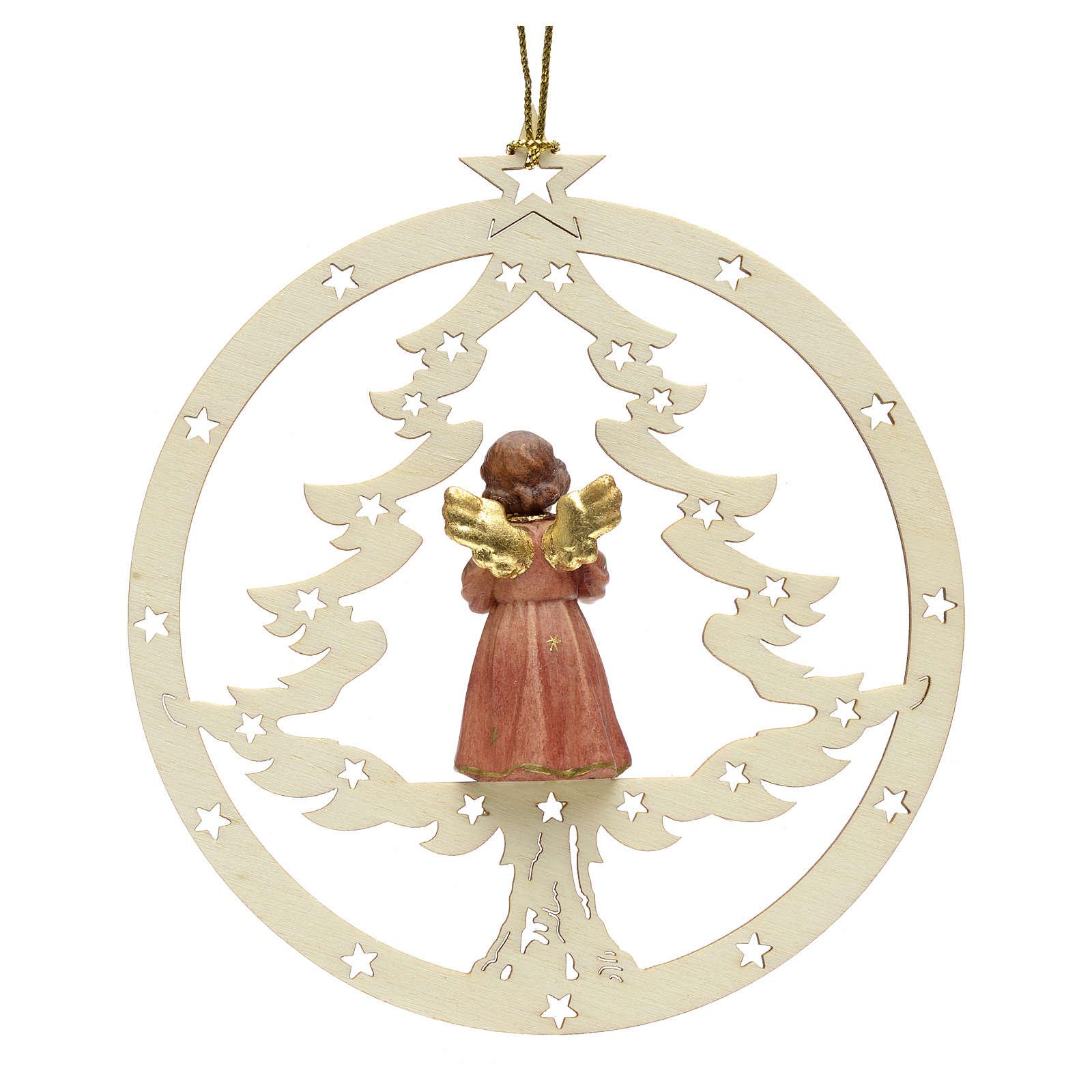 Decoración Navidad Ángel abeto y notas 4
