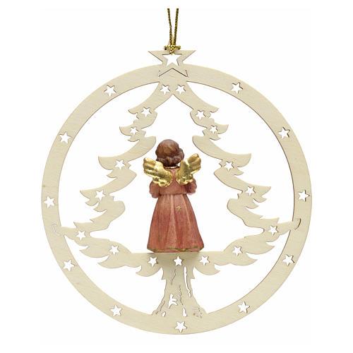 Decoración Navidad Ángel abeto y notas 2