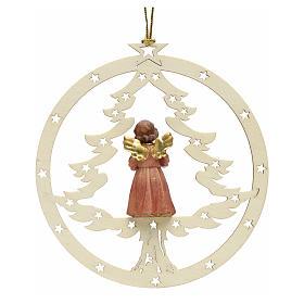 Décoration sapin Noël ange avec partition s2