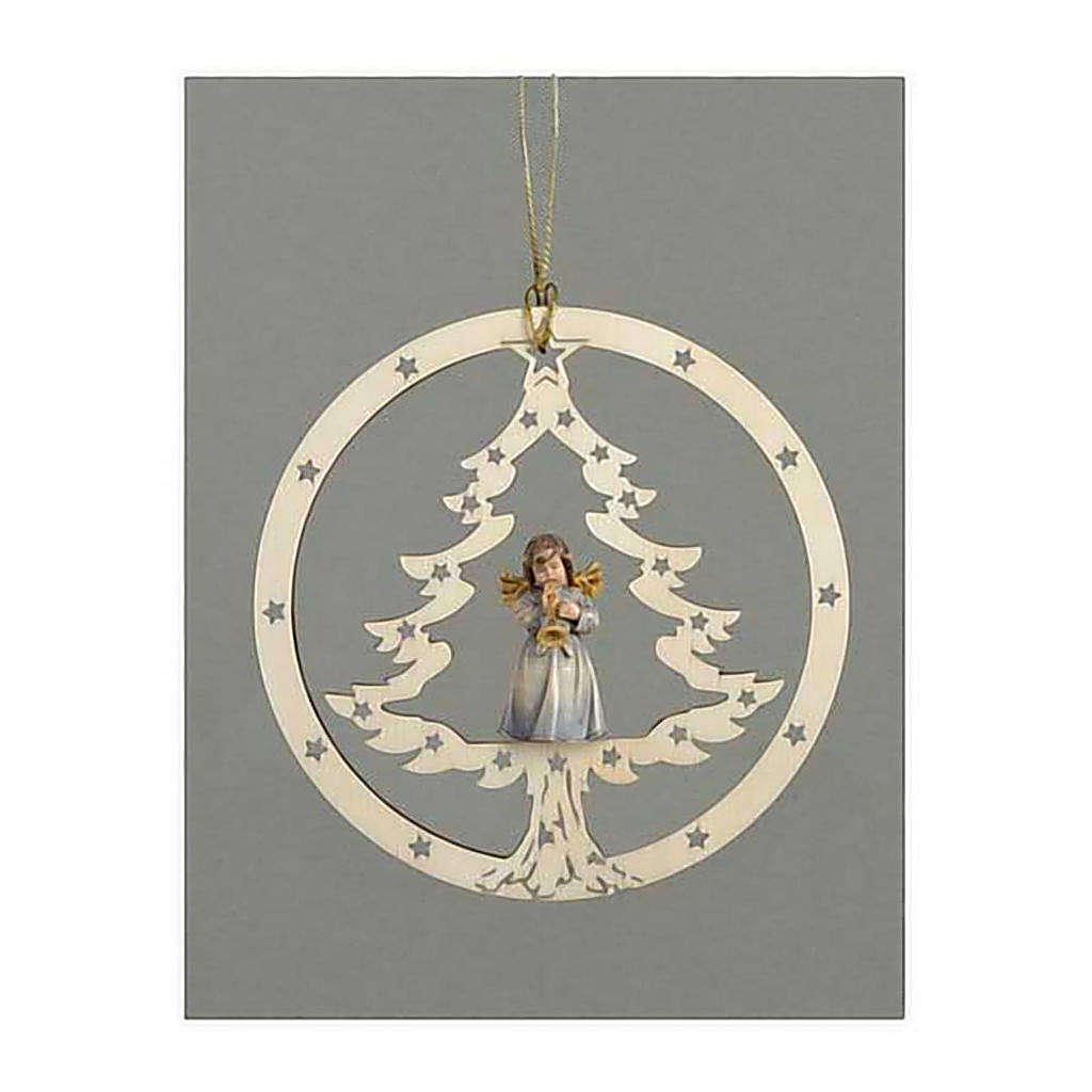 Christmas decor angel with trumpet 4