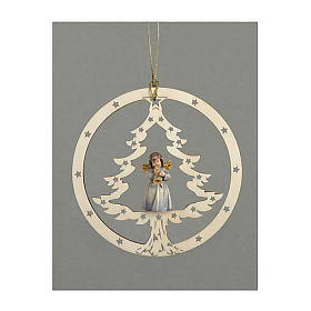 Christmas decor angel with trumpet s1