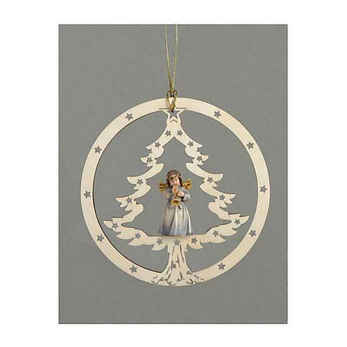 Christmas decor angel with trumpet 1