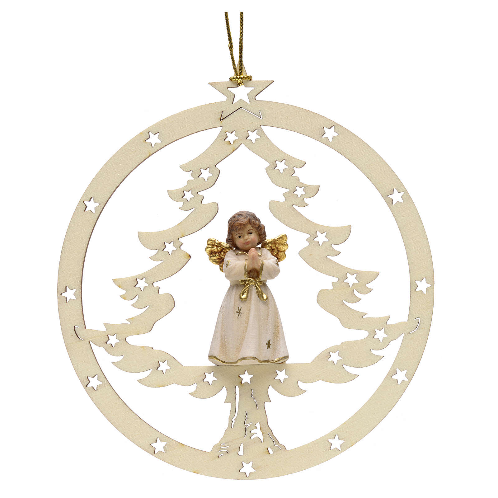 Décoration sapin Noël ange en priè 4