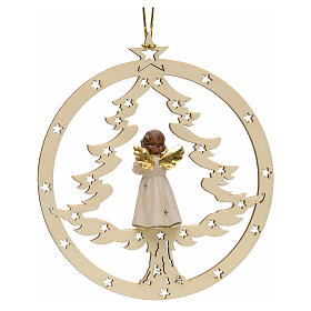 Décoration sapin Noël ange en priè s2