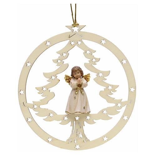 Décoration sapin Noël ange en priè 1