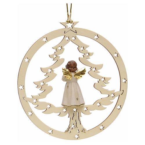 Décoration sapin Noël ange en priè 2