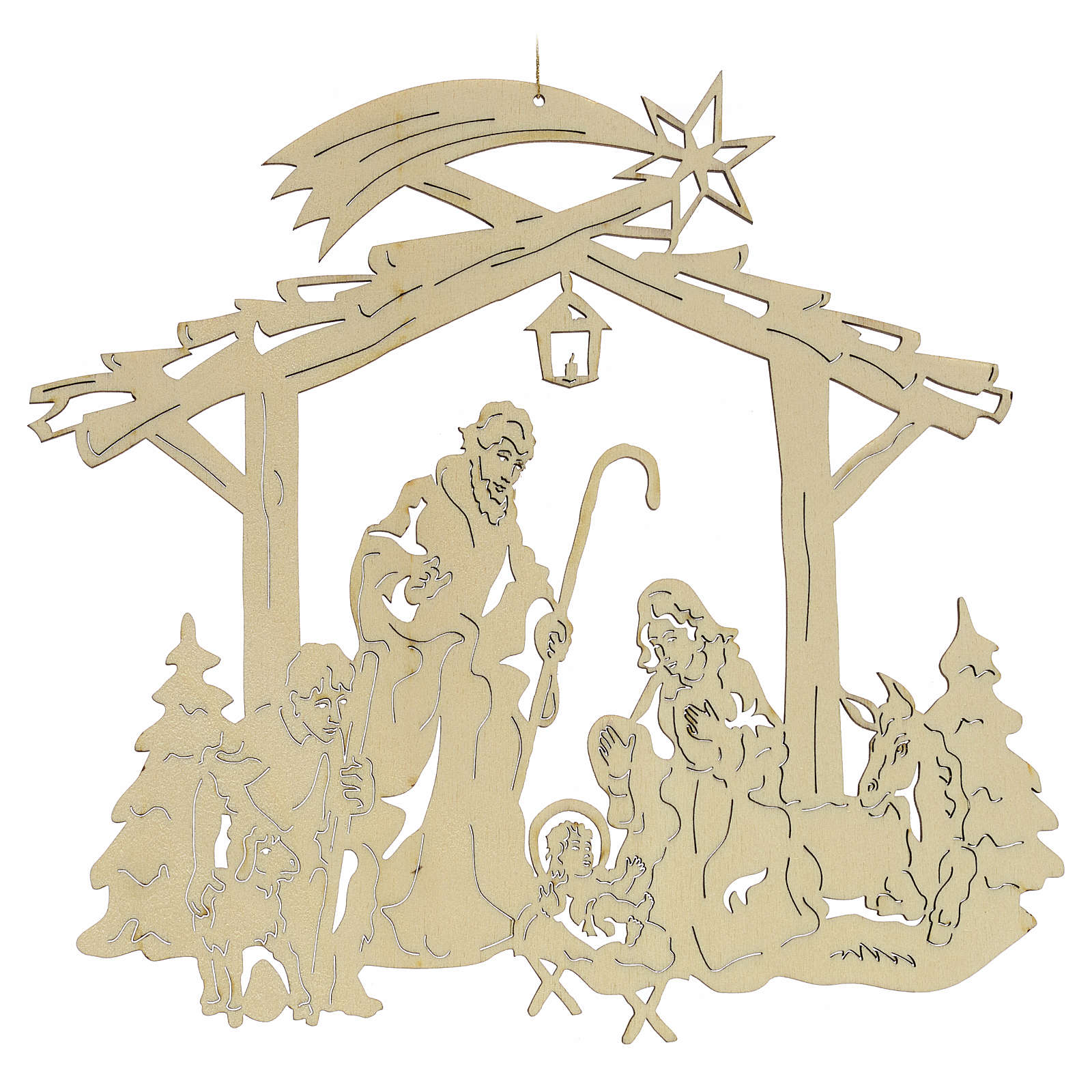 Christmas tree decoration, nativity 4