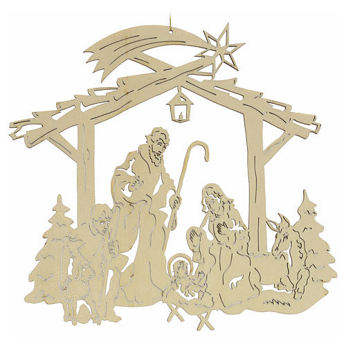 Christmas tree decoration, nativity 2
