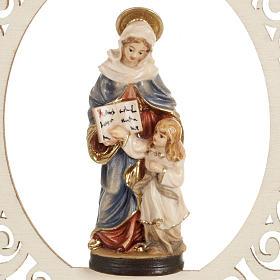 Décoration Noël Ste Anne et Marie bois s2
