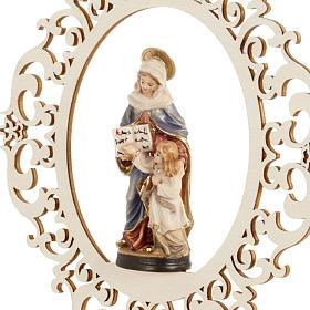 Décoration Noël Ste Anne et Marie bois s4