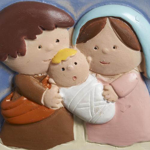 Ornement Nativité stylisée clochette 3