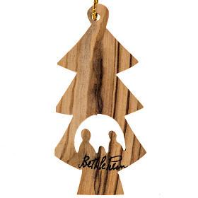 Adorno árbol madera olivo Tierrasanta árbol nacimiento s1