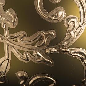 Palla albero Natale oro decori 10 cm s3
