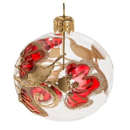 Bola De Navidad Transparente Decoraciones 6 Cm Venta Online En - Bolas-de-navidad-transparentes