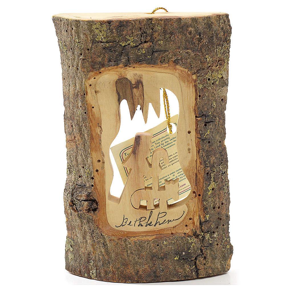 Adorno árbol olivo Tierra Santa tronco pastor 4