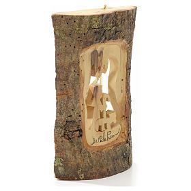 Adorno árbol olivo Tierra Santa tronco pastor s4