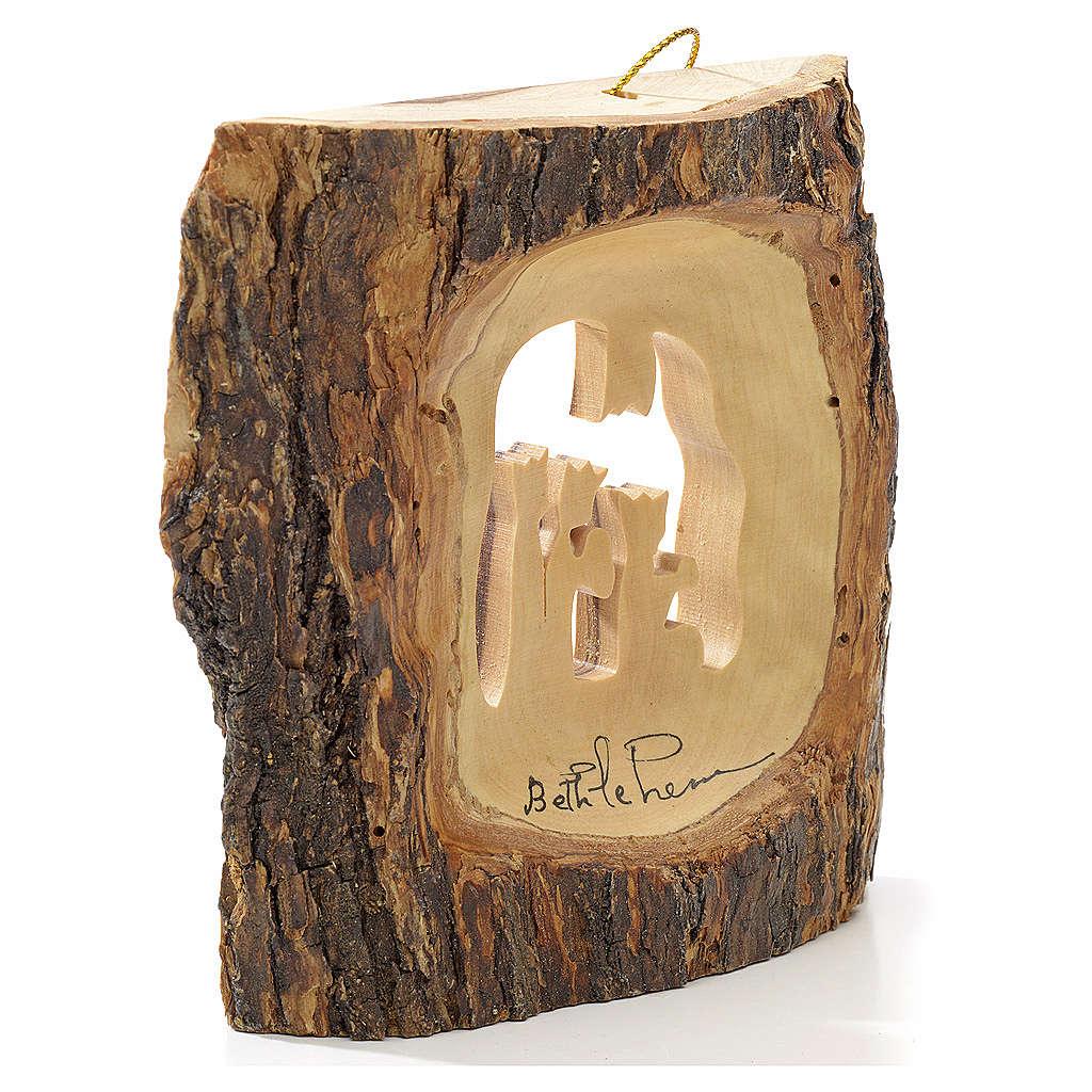Addobbo albero olivo Terrasanta tronchetto Re Magi 4