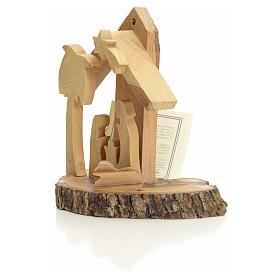 Nativity Christmas decoration, Holy Land olive wood s2
