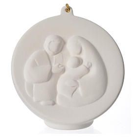 Terracotta Christmas bauble, Ave Loppiano s1