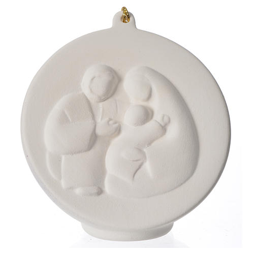 Terracotta Christmas bauble, Ave Loppiano 1