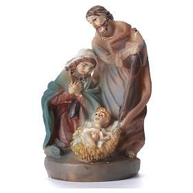 Adornos de madera y pvc para Árbol de Navidad: Nacimiento 5 cm resina multicolor