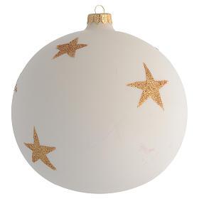 Palla Albero Natale fiori decoupage 150mm s2