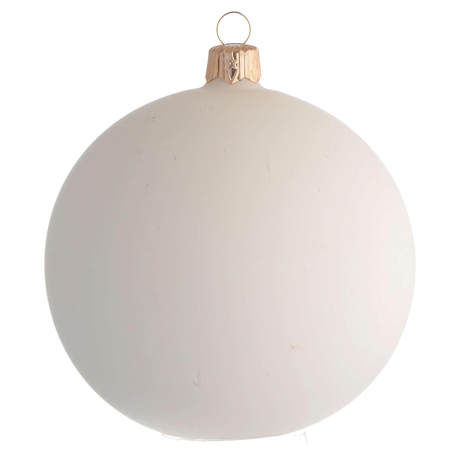 Bombka bożonarodzeniowa z Janem Pawłem II 100mm 4