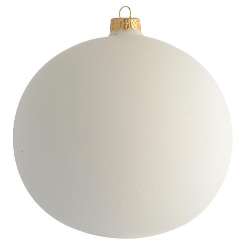 Bola de Navidad Juan Pablo II vidrio soplado 150 mm 2
