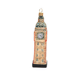 Big Ben Londres adorno vidrio soplado Árbol de Navidad s4