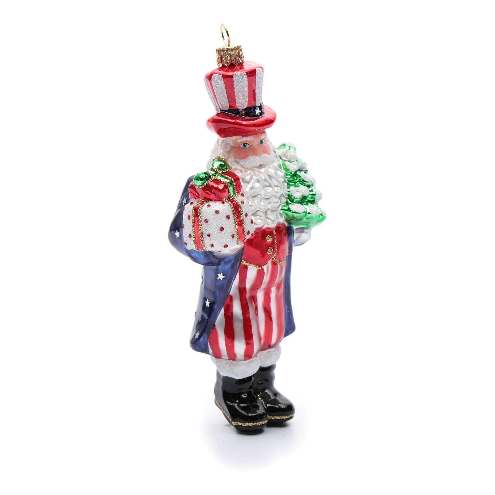 Wieso Tannenbaum Weihnachten.Weihnachten Uncle Sam Mundgeblasenen Glas Für Tannenbaum