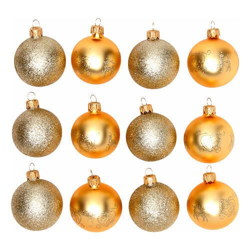 3672fc2572c Bolas para Árbol de Navidad 60 mm caja 12 piezas surtidas 1
