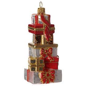 Regali di Natale addobbo vetro soffiato Albero Natale s1