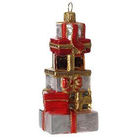 Regali di Natale addobbo vetro soffiato Albero Natale s3