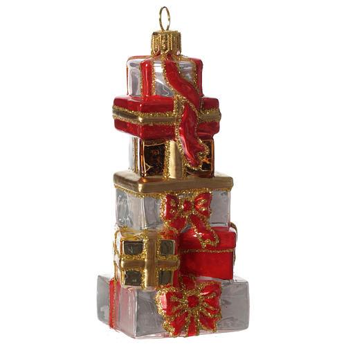 Regali di Natale addobbo vetro soffiato Albero Natale 1