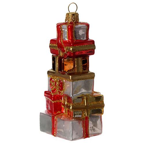 Regali di Natale addobbo vetro soffiato Albero Natale 2