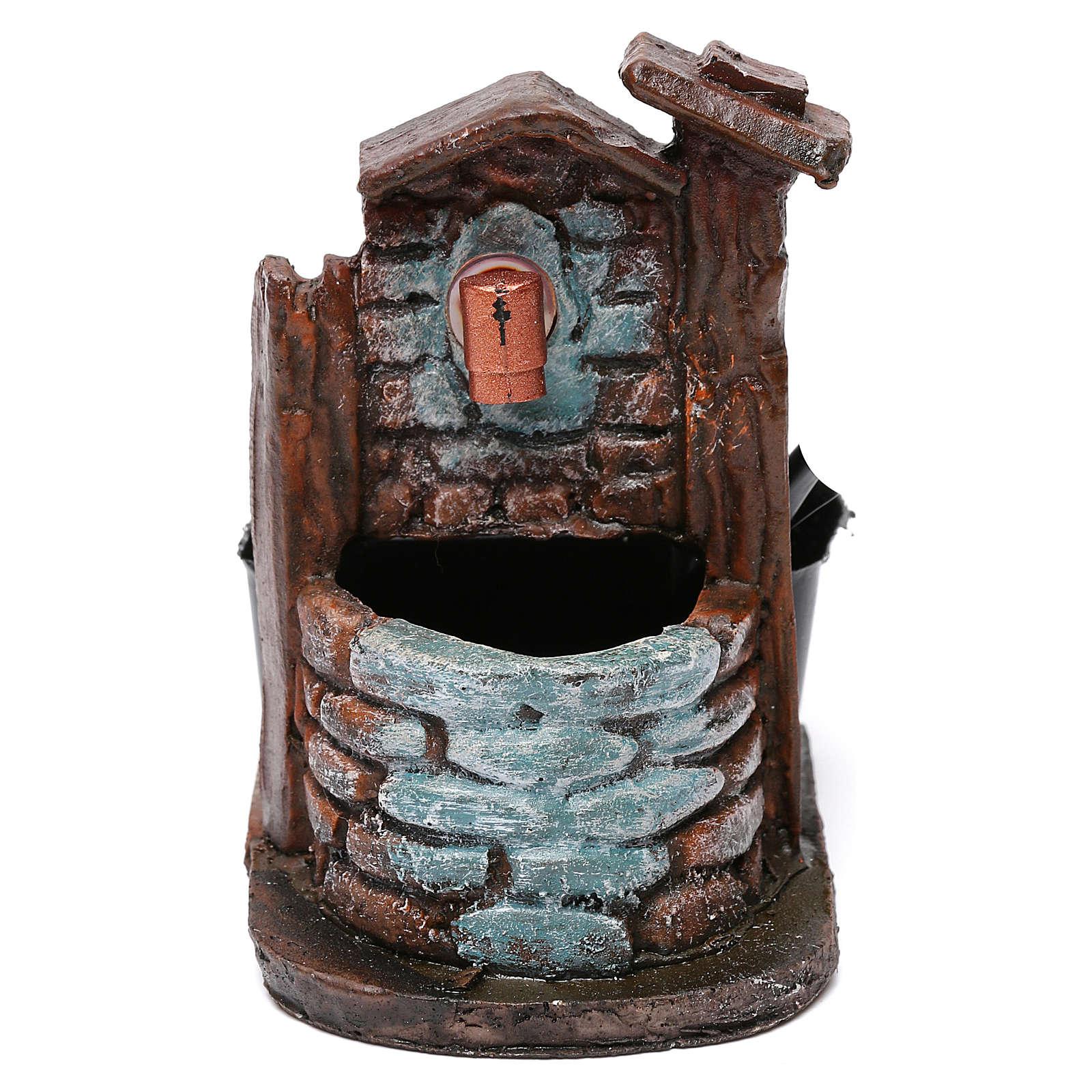 Nativity accessory, fountain 10x6x8.5 cm 4