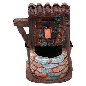Fontaines crèche: Fontaine briques avec pompe 9x7x10