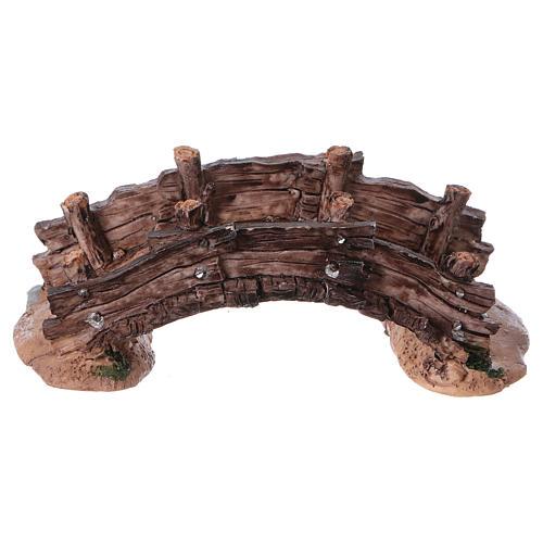 Pont miniature crèche noël 14.5x7x5 1