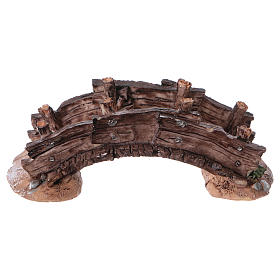 Nativity set accessory, bridge 14,5x7x5 s4