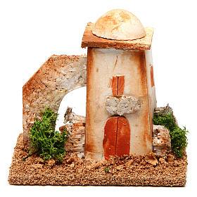 Nativity setting, minaret s1