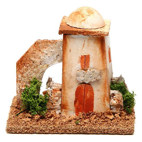Nativity setting, minaret 1