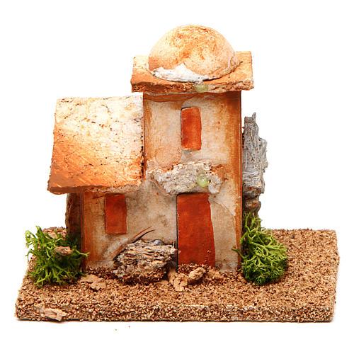 Nativity setting, minaret 4