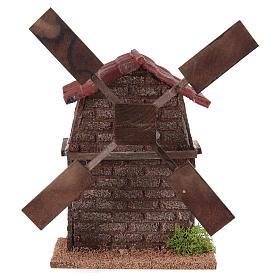 Nativity accessory, electric windmill 13x10x10 cm s1