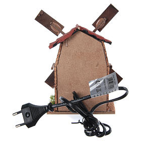 Wiatrak elektryczny do szopki 13x10x10 s4