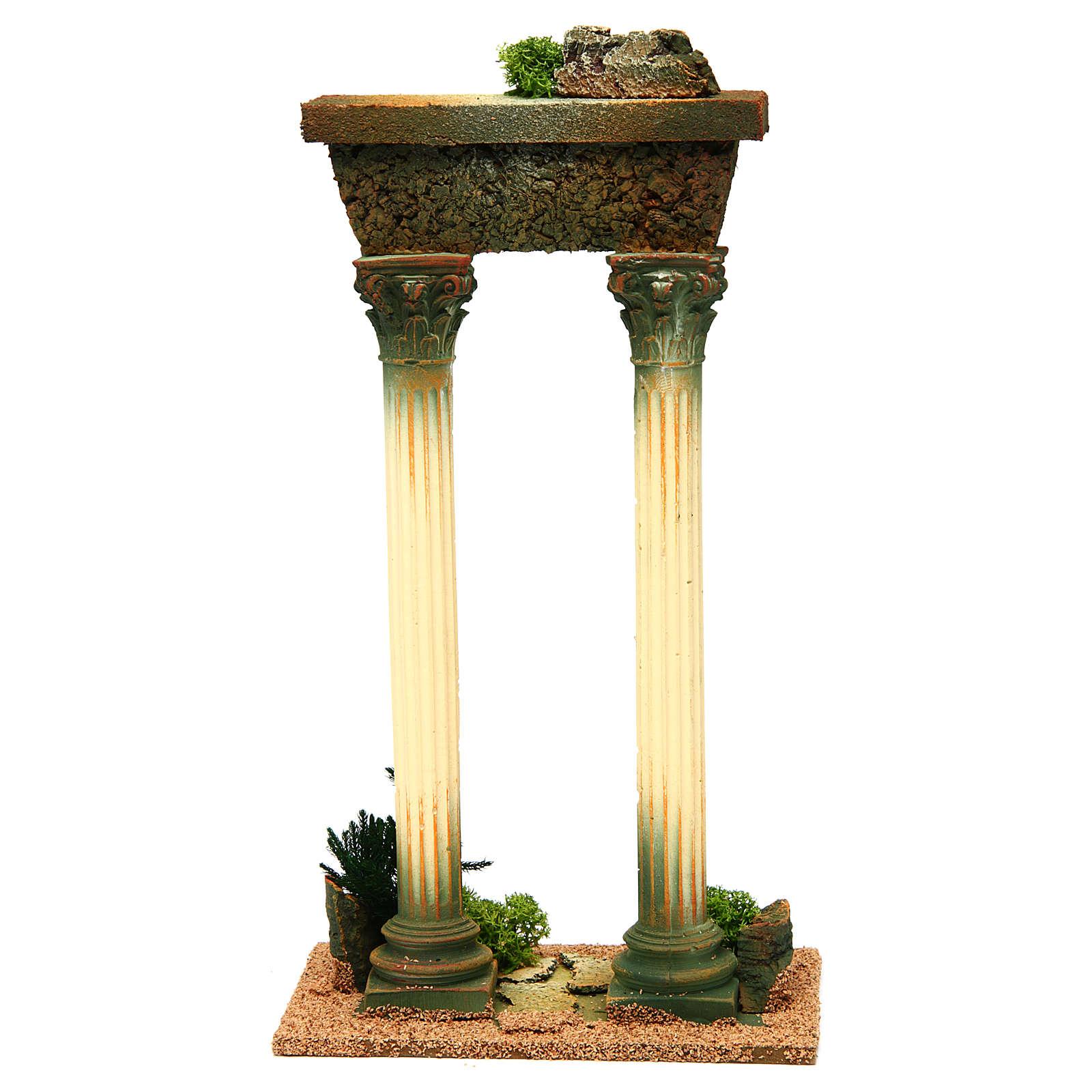 Roman pillars with ruins for Nativity scene 4