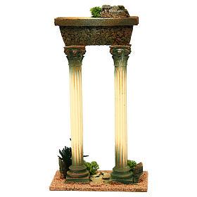 Columnas romana con viga: ambientación belén s4