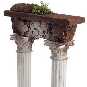 Colonne romane con trave: ambientazione presepe s2